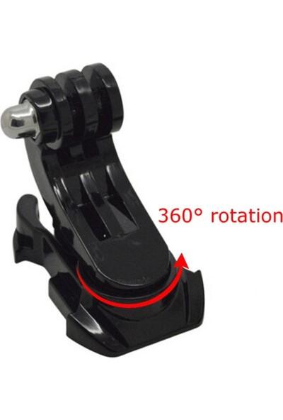 KingMa GoPro Uyumlu 360 Derece Dönebilen J-Hook Aparatı