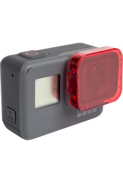 KingMa GoPro 5 Uyumlu Su Altı Kırmızı Dalış Filtresi