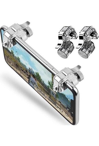 KingMa KingMa R11 Mobil Oyunlar İçin Metal Tetik Düğmesi