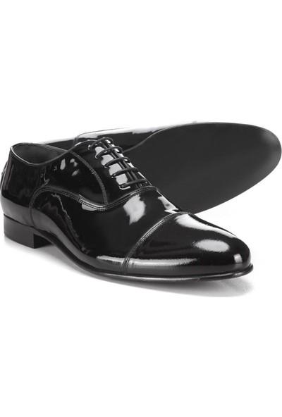 Kip Ayk-188 Erkek Klasik Ayakkabı Siyah Rugan