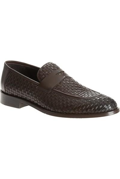Kip Ayk-186 Erkek Klasik Ayakkabı Kahve
