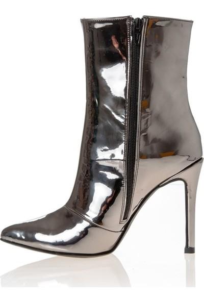 Rugano 41713 Kadın Klasik Çizme Platin