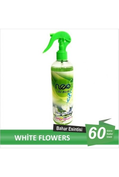 Neo Air Fresh Oda Kokusu, Oto Kokusu, White Flowers 400 Ml