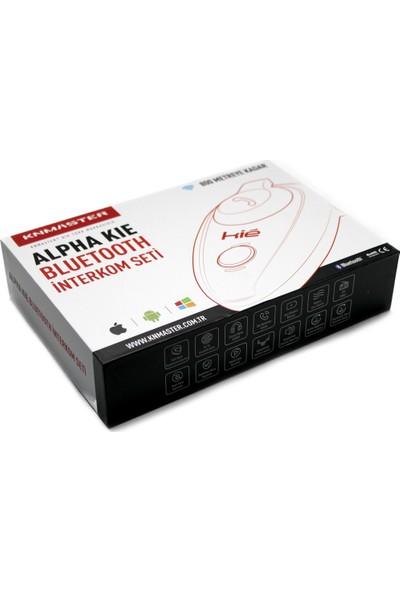 Knmaster Alpha Kie Bluetooth Motosiklet İnterkom İntercom