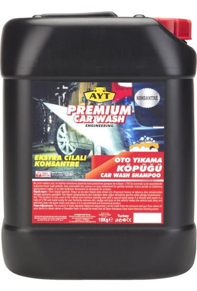 Ayt Premium Ayt Premium Car Wash Engiinering Ekstra Cilalı Fırçasız Oto Yıkama Şampuanı 30 Kg