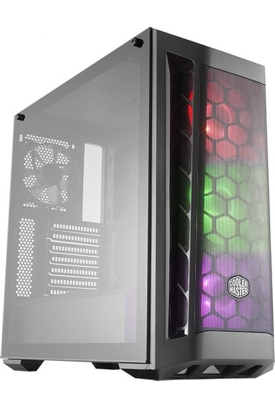 Cooler Master Masterbox MB511 700W 80+ RGB 3x120mm Fanlı Tempered Cam Pencereli MidTower Kasa