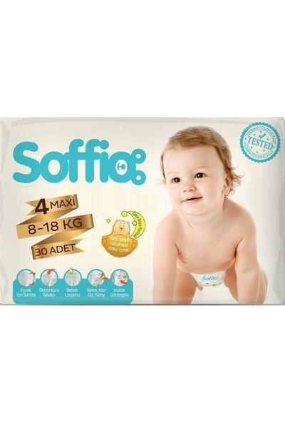 Soffio 4 Numara Maxi 30'lu Bebek Bezi