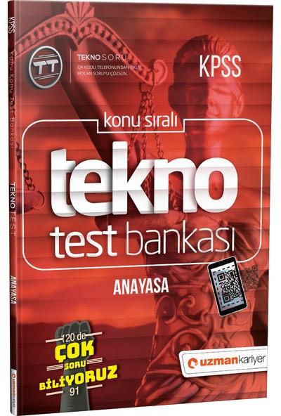Tekno Anayasa Test Bankası | Dijital Çözümlü - Uzman Kariyer
