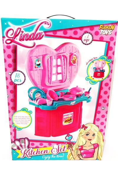 Linda Kitchen Set 18 Parça 68 cm