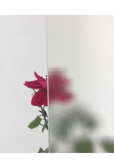 Durul Duşakabin 80 x 80 cm Oval Buzlu Desen