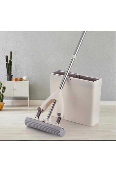 Arow Magic Mop Temizlik Seti Tablet Mop Sihirli Temizlik (+1 Yedek Uç Hediye)