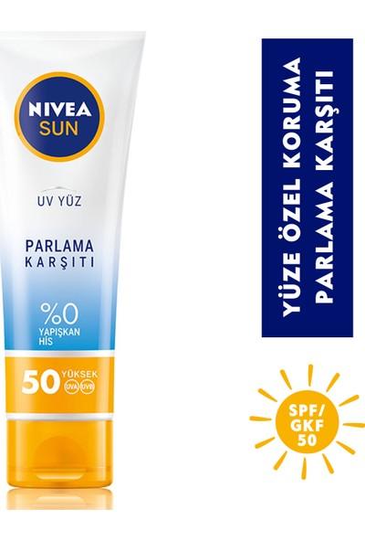 Nivea Sun Parlama Karşıtı Yüz Kremi 50 ml