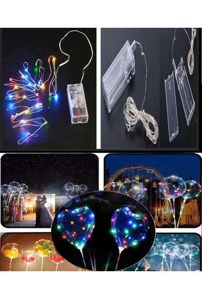 Tahtakale Toptancısı LED Işık Pilli Balon ve Dekorasyon Için 3 Metre Rengarek LED Işık