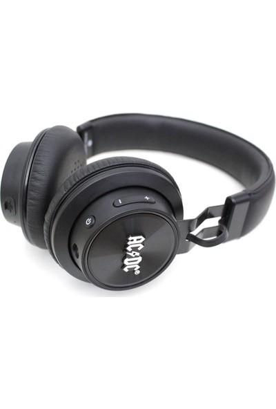 iDance AC/DC Blue 301 Bluetooth Kulak Üstü Kulaklık