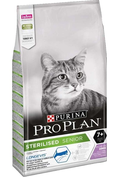 Pro Plan Kedi Sterilised Hindi Yaşlı 3 Kg