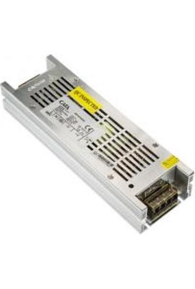 Cata CT-2576 10 Amper Şerit LED Trafosu 120W Slim Model 3 Çip