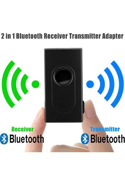 GOB2C Bluetooth V4 Verici Alıcı Kablosuz A2Dp 3.5Mm Stereo Ses Müzik Adaptörü
