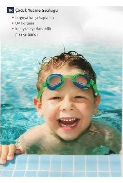 Rossmann Ideen-Welt Çocuk Yüzücü Gözlüğü Havuz Deniz Gözlüğü