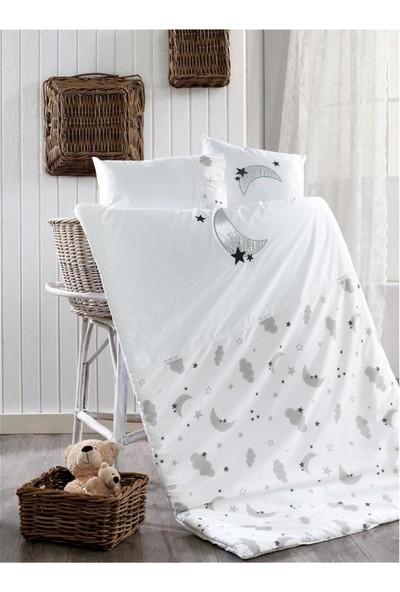 Momishop Moon Gri Uyku Seti 70 x 130 cm
