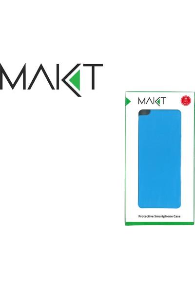 MAKT Apple iPhone 6 / 6S Soft Touch Silikon Kılıf Arka Kapak Siyah