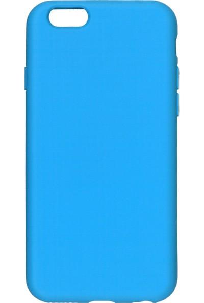 MAKT Apple iPhone 6 / 6S Soft Touch Silikon Kılıf Arka Kapak Lila