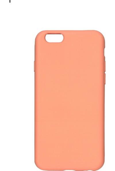 MAKT Apple iPhone 6 / 6S Soft Touch Silikon Kılıf Arka Kapak Pembe