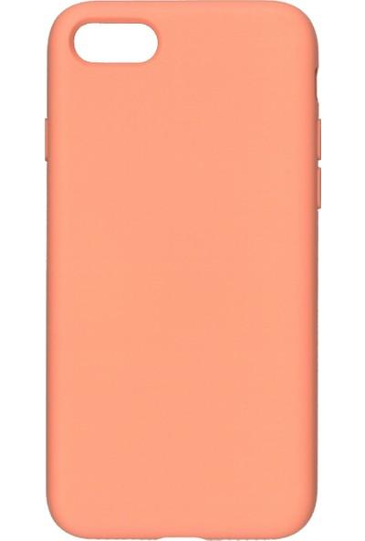 MAKT Apple iPhone 7 / 8 Soft Touch Silikon Kılıf Arka Kapak Lila