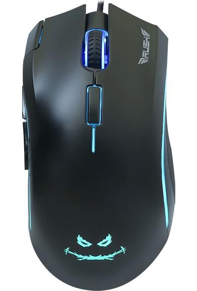 Rush RM91 24000DPI RGB 7D Oyuncu Mouse