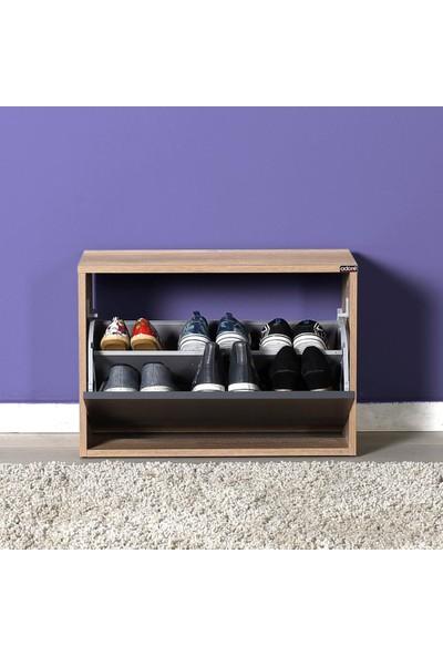 Adore New Step Oturaklı Ayakkabılık - Tori / Antrasit