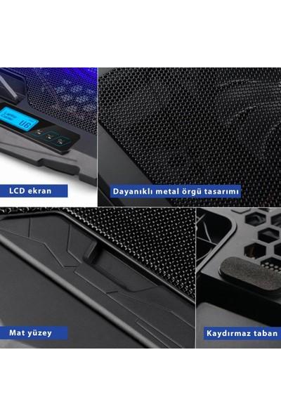 JUO C1 Led Ekranlı Notebook Soğutucu