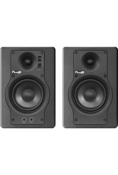 "Fluid Audio F4 4"" Aktif Stüdyo Monitörü Çift"