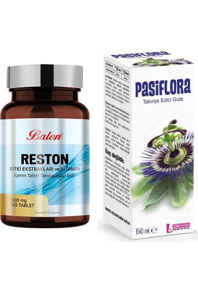 Ledapharma Passiflora Şurup 150 ml ve Reston Pasifloralı 60 Kapsü
