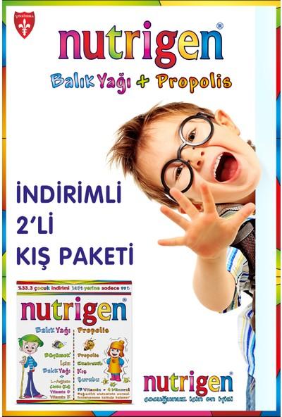 Nutrugen Balık Yağı Propolis 200 ml +200 ml Kofre
