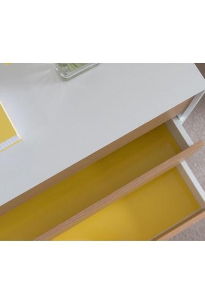 D-c-fix 346-0156 Mat Koyu Sarı Kendinden Yapışkanlı Folyo