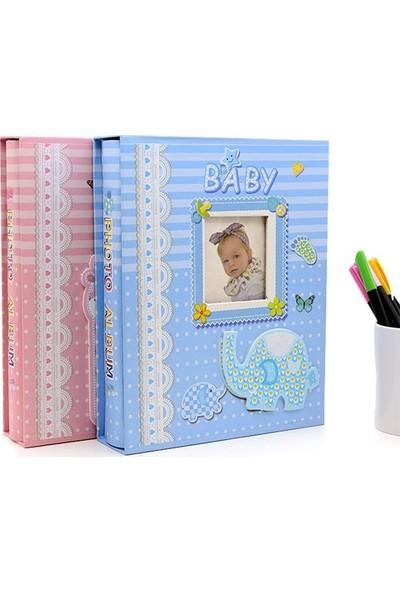 Fz Bebek Fotoğraf Albümü - Mavi 10 x 15 200 lük