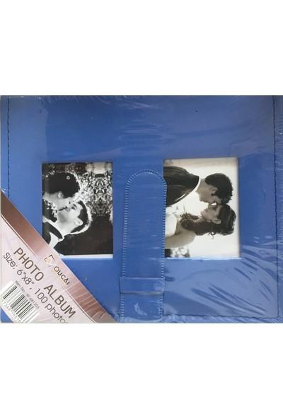 Fz Fotoğraf Albümü Deri Mavi 15 x 21 100 lük