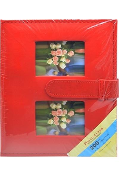 Fz Fotoğraf Albümü Deri Kırmızı 10 x 15 200 lük