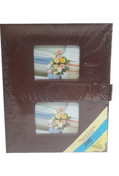 Fz Fotoğraf Albümü Deri Kahve 10 x 15 200 lük