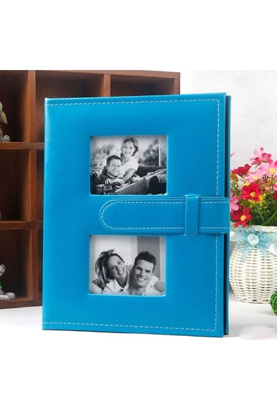 Fz Fotoğraf Albümü Deri Mavi 13 x 18 100 lük