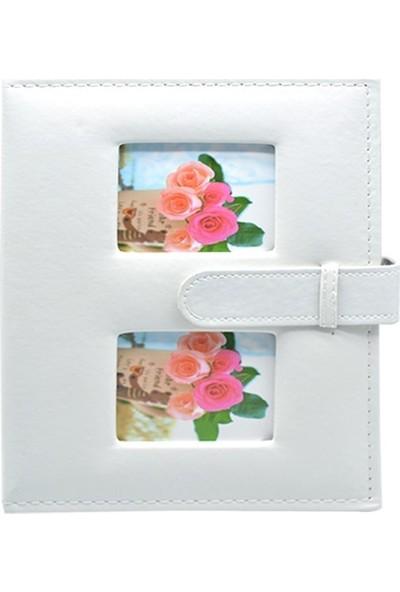 Fz Fotoğraf Albümü Deri Beyaz 15 x 21 100 lük