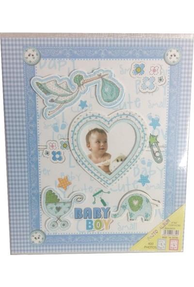 Fz Bebek Fotoğraf Albümü - Mavi 10 x 15 400 lük