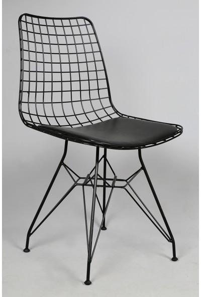 Akın Lüx Siyah Sandalye