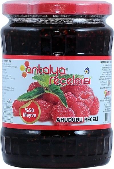 Antalya Reçelcisi Ahududu Reçeli %50 Meyve Klasik Seri 700 Gr