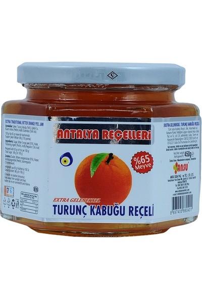 Antalya Reçelcisi Turunç Kabuğu Reçeli 450 gr