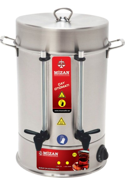 Mizan 40 Bardak Çay Makinesi & Çay Otomatı & Semaver