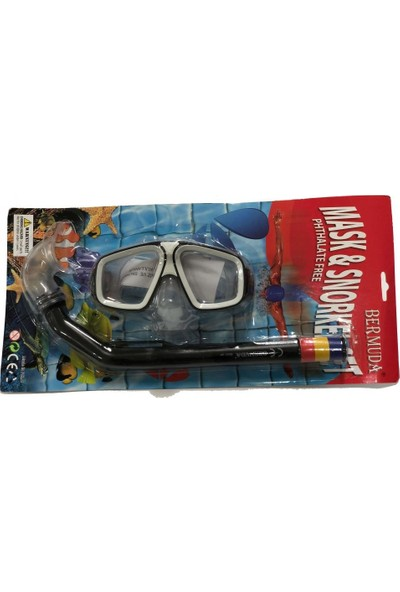 Bermuda Maske Şnorkel Set