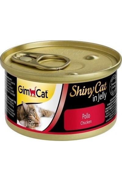 Gimcat Shinycat 24'lü Tavuklu Kedi Konservesi 70gr