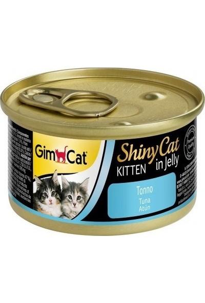 Gimcat Shinycat 24'lü Ton Balıklı Yavru Kedi Konservesi 70gr