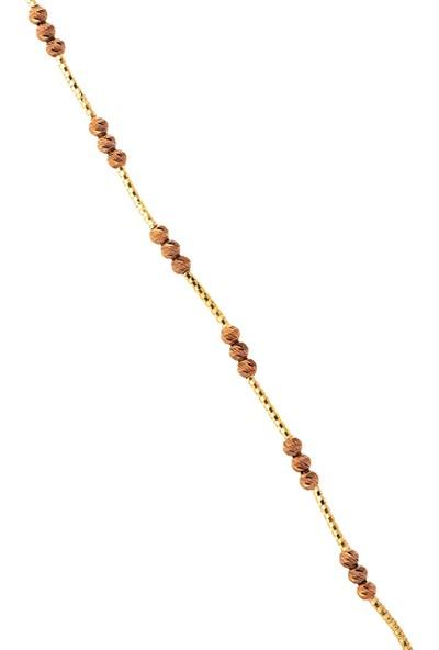 Dal Kuyumculuk 14 Ayar 4,68 Gr Sarı Altın, Kahverengi Dora Künye