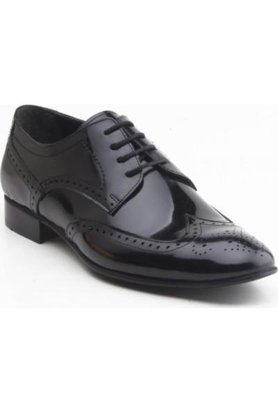 Depos Siyah Erkek Klasik Ayakkabı